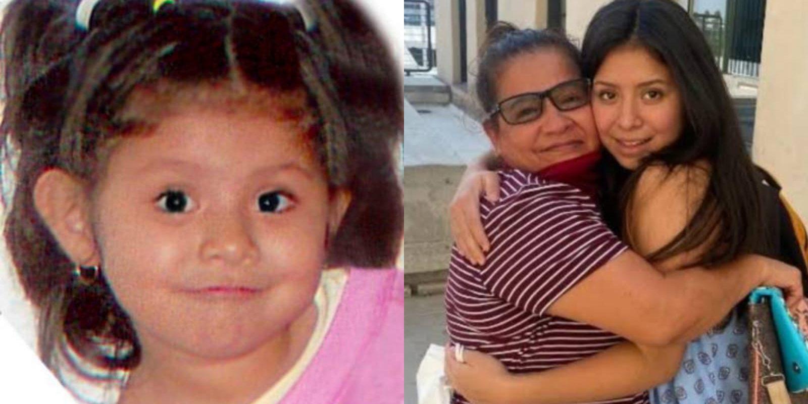 Madre e hija pudieron reunirse tras años de búsqueda: A Angélica le arrebataron a su niña en 2007