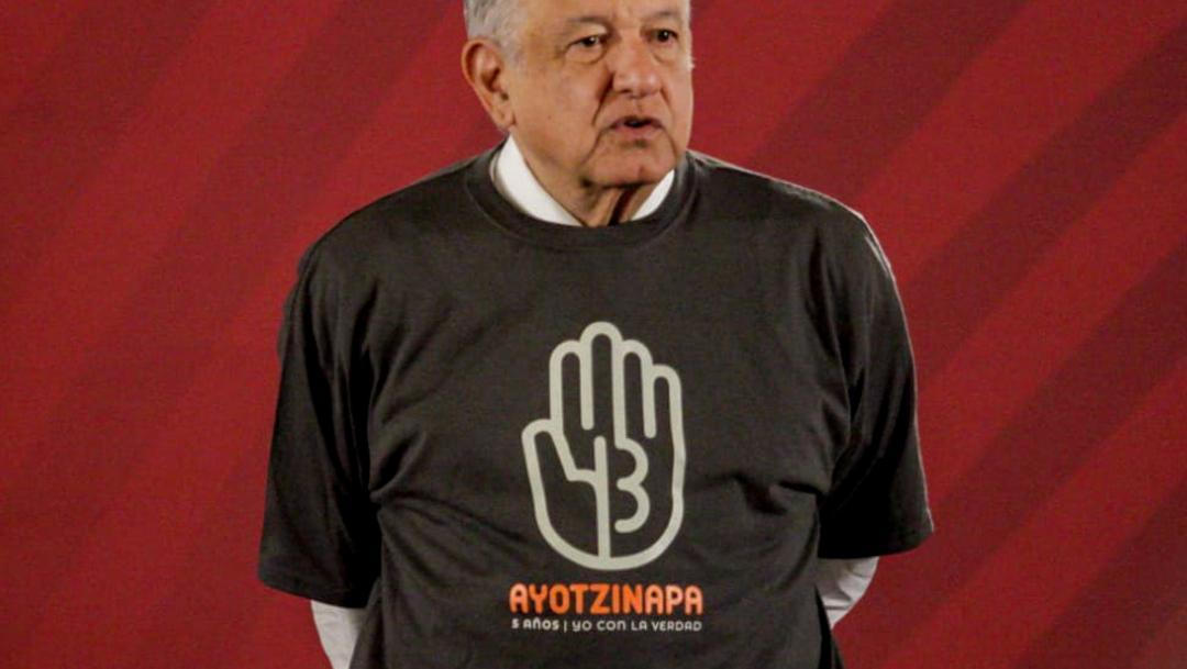 'Ya no se protege a políticos y militares'; AMLO expondrá información importante sobre el caso Ayotzinapa