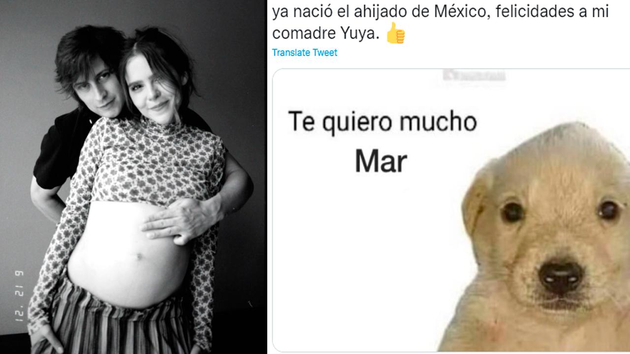 Yuya y Siddhartaanuncian el nacimiento de su bebita, Mar; internautas reaccionan con memes