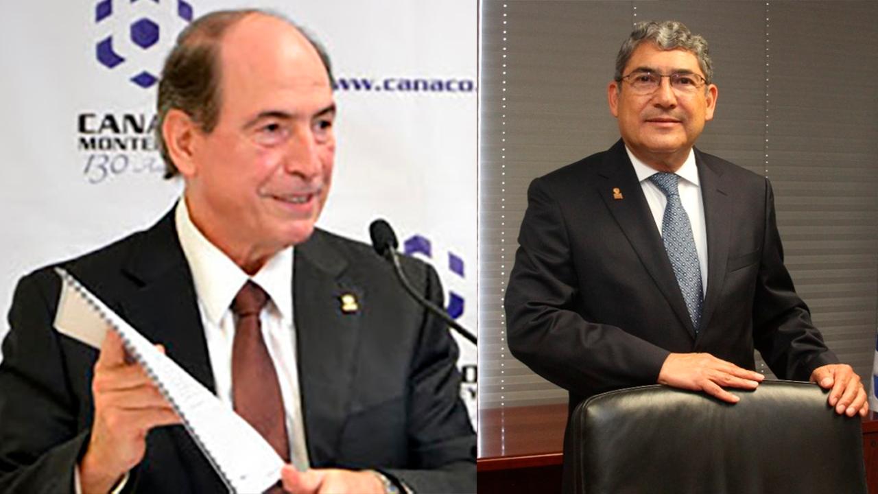 Entrega la CANACO Servytur Monterrey la Presea Pedro Maiz a Gilberto Villarreal Guzmán