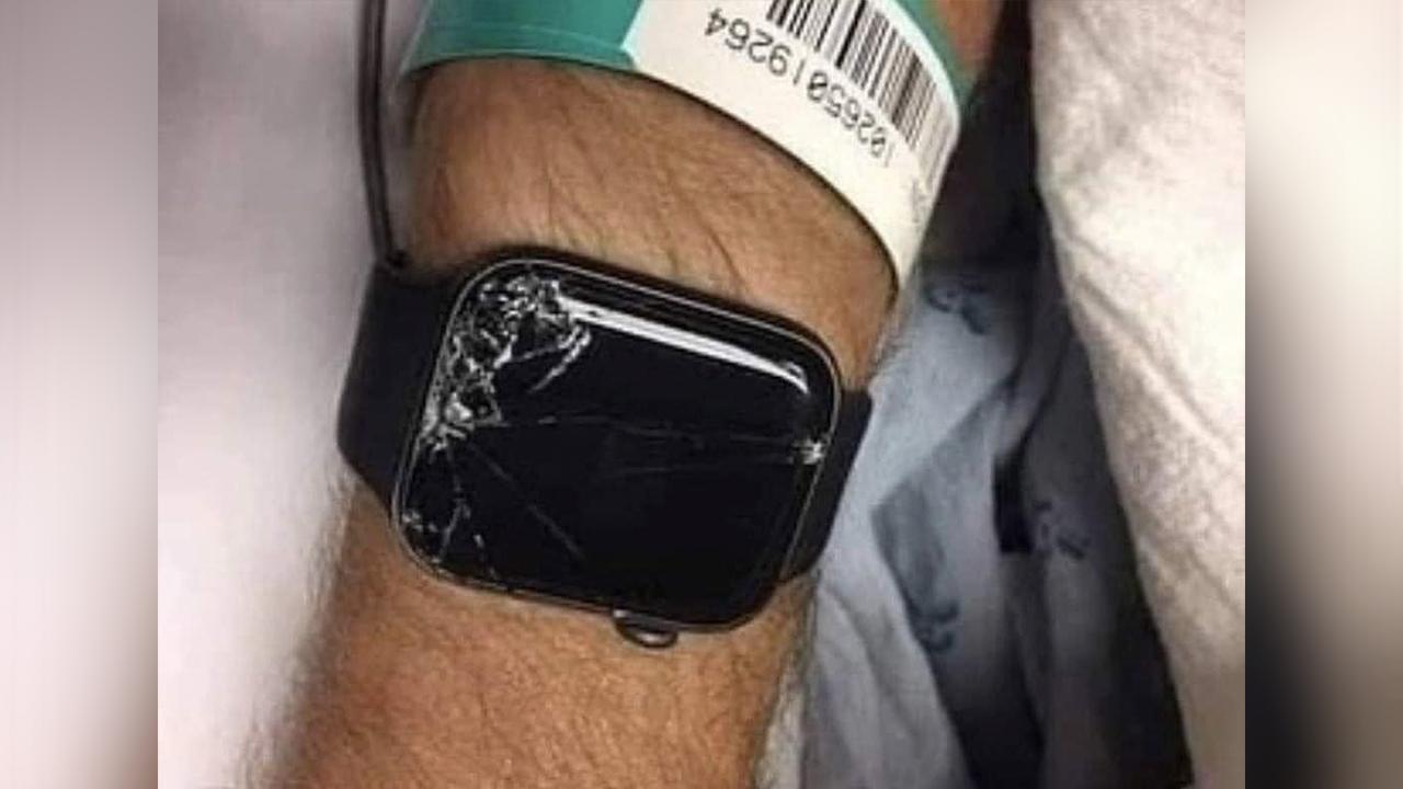 Apple Watch le salvó la vida a un hombre: llamó a la ambulancia y a su hijo tras fuerte accidente