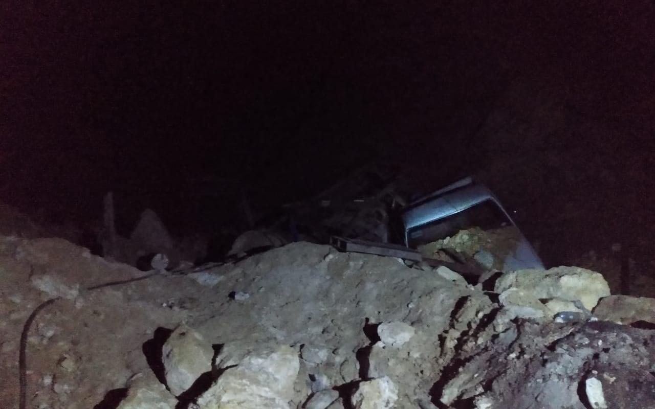 Deslave ocasionó obstrucción de accesos a mina de Obayos