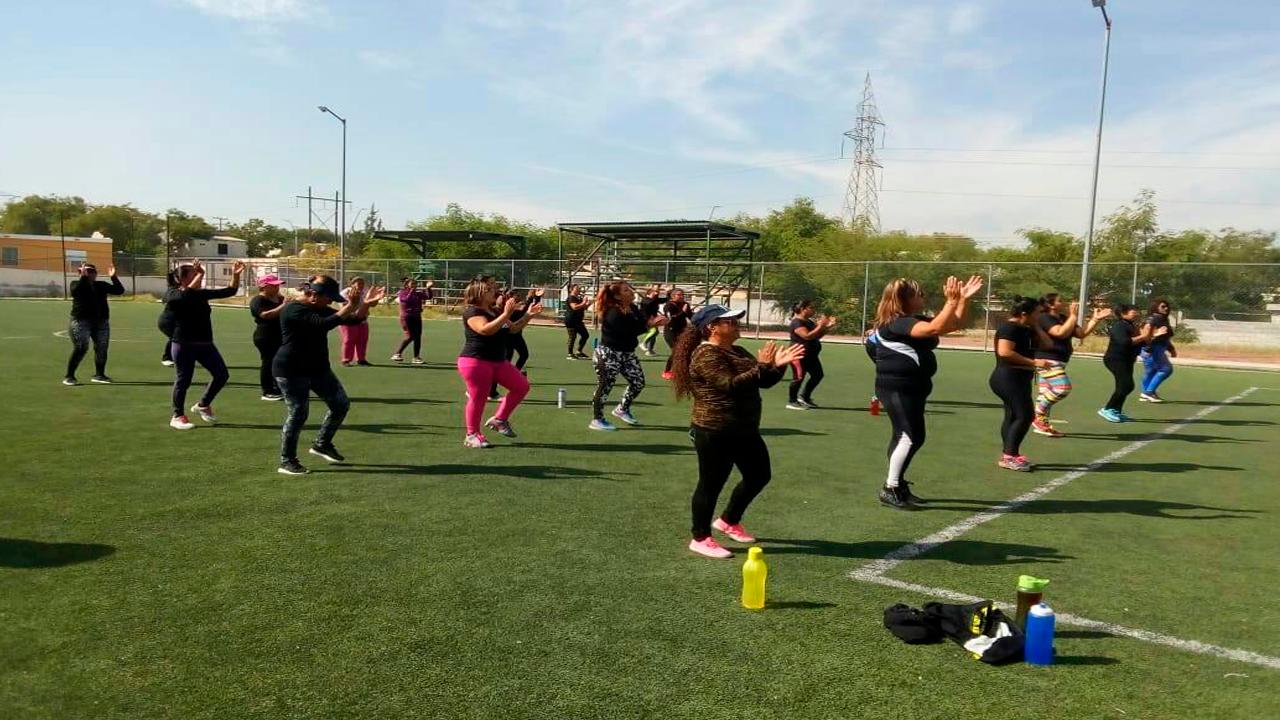 Apoya actividades física a los jóvenes monclovenses