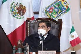 Gobernador de Puebla agradece a AMLO apoyo tras el paso del huracán 'Grace'
