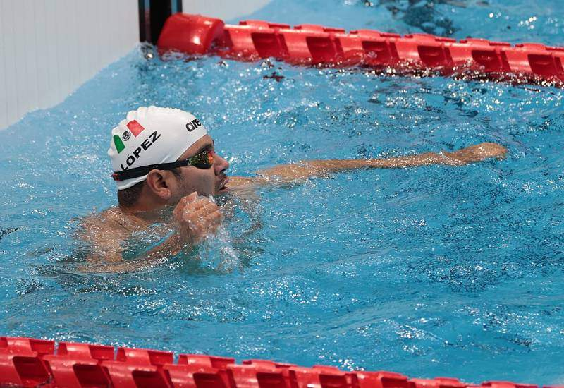 Gana plata en natación, su tercera medalla en Tokio 2020