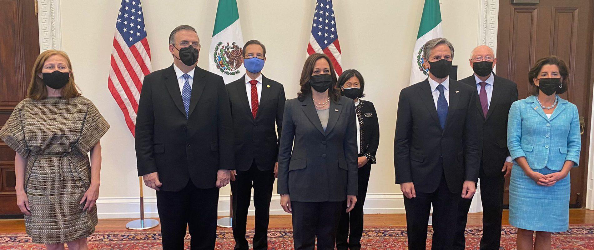 México y Estados Unidos dan por reactivado el Diálogo Económico de Alto Nivel con cuatro pilares