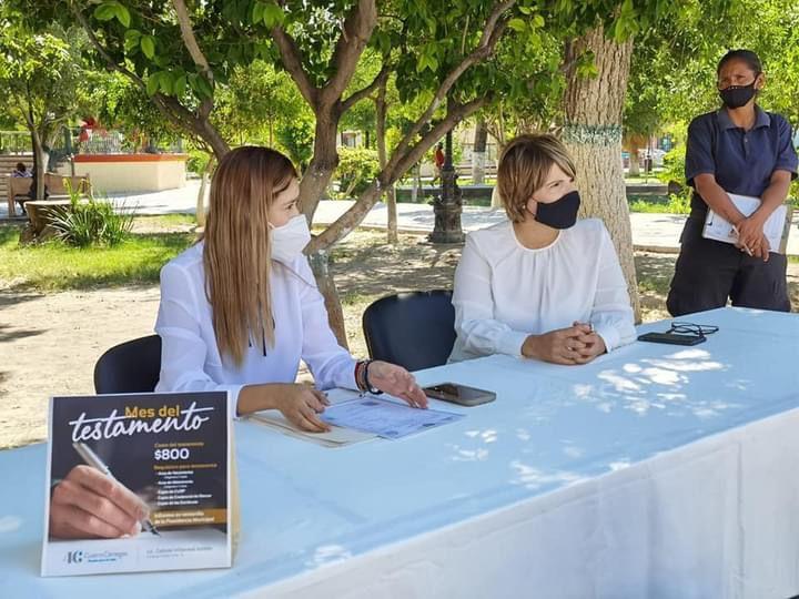Instalan módulo de trámite de testamento a bajo costo en Cuatro Ciénegas