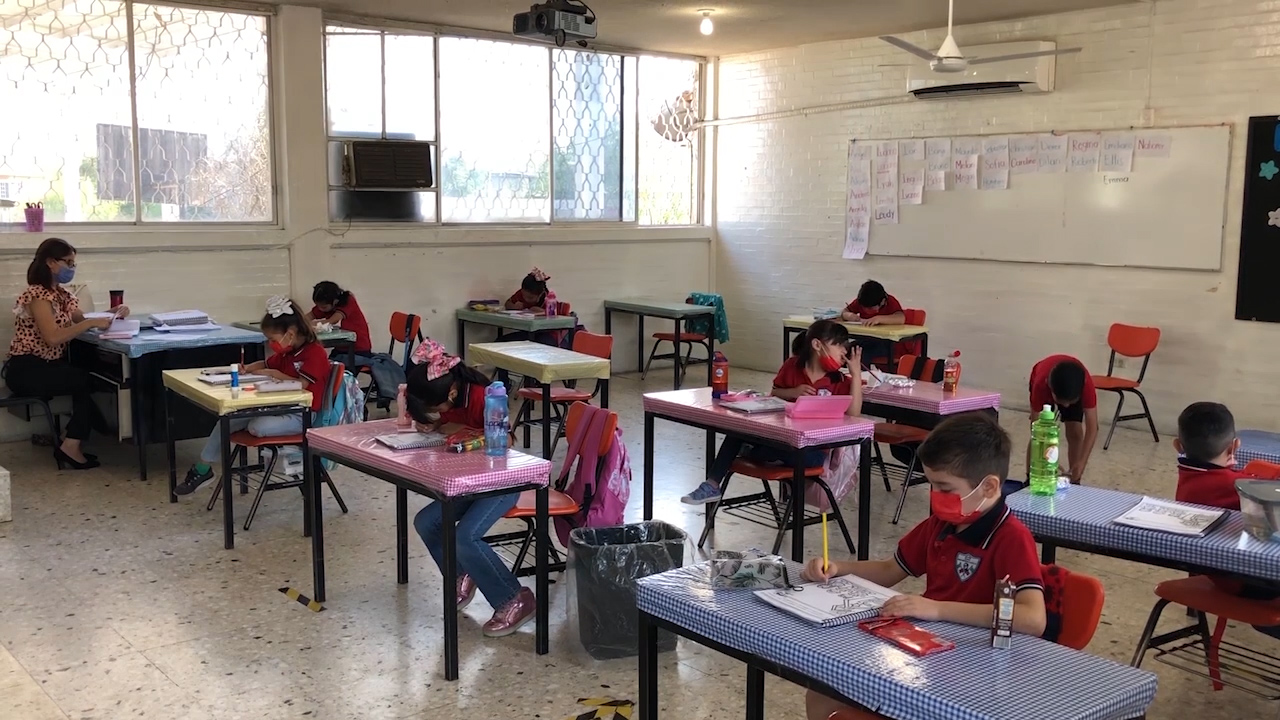 Contemplan abrir 15 escuelas a clases en plan hibrido el próximo lunes 4 de octubre en Monclova