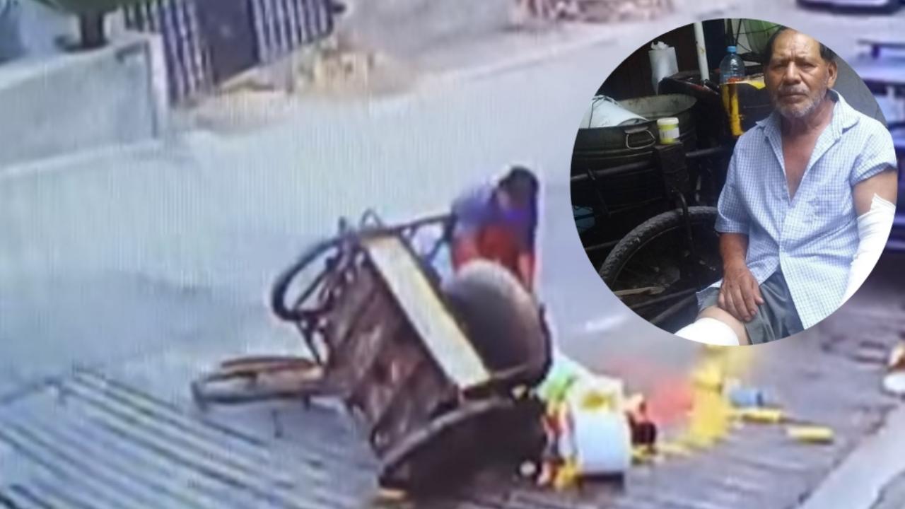 Elotero sufrió accidente y perdió toda su mercancía: el Internet se unió para ayudarlo