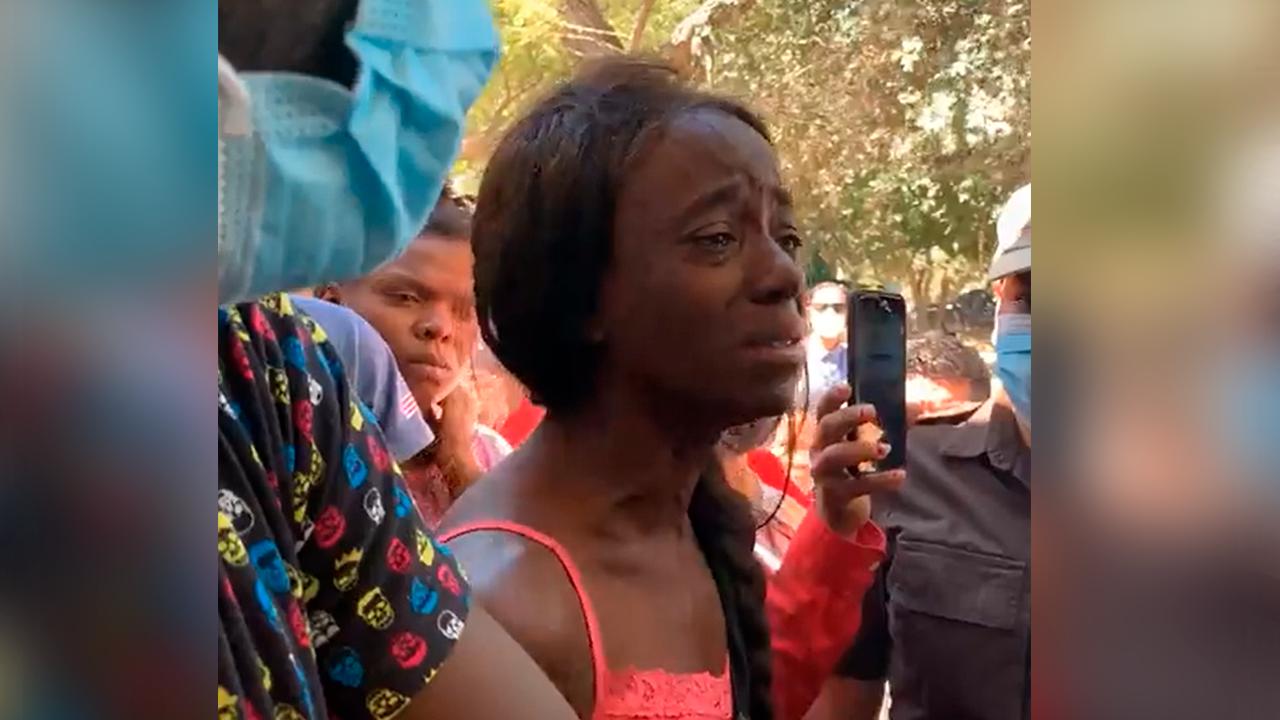 No queremos hacerle daño a nadie, solo queremos trabajar, somos seres humanos: Haitiana desde Acuña, Coahuila