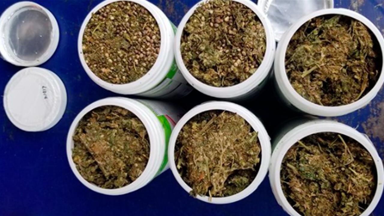 José traficaba marihuana en Coahuila: la escondió en frascos de Herbalife Nutrition