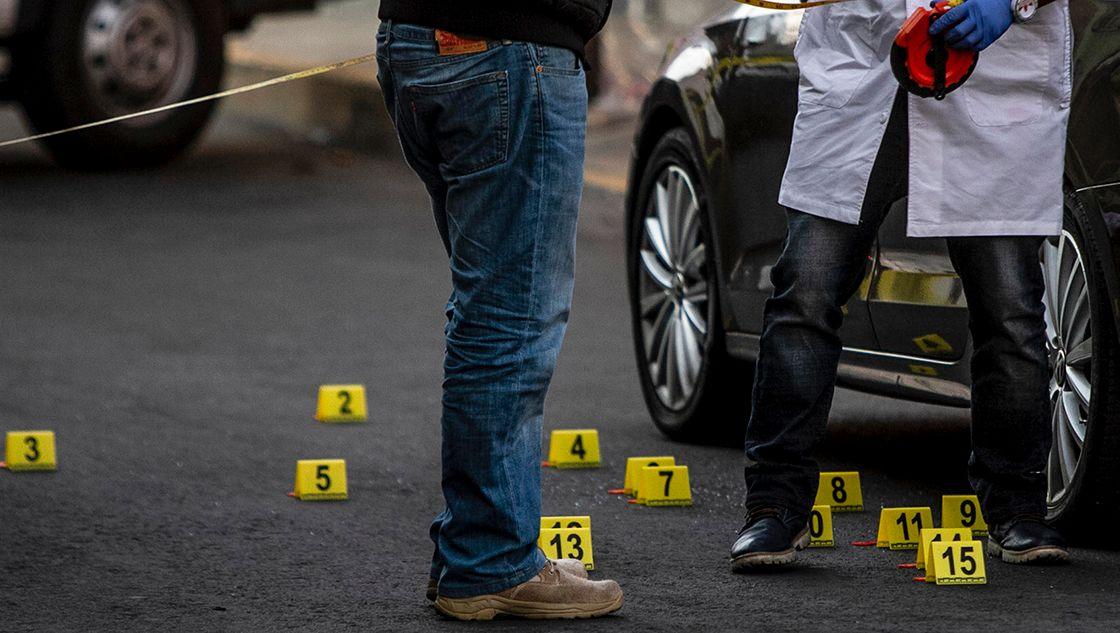 México inicia semana con 100 homicidios dolosos