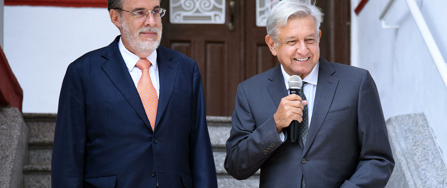 AMLO confirmó renuncia de Julio Scherer Ibarra a la Consejería Jurídica de la Presidencia