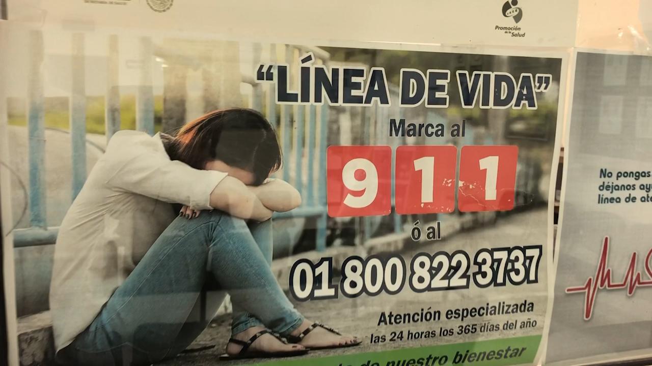 Adolescentes los más vulnerables al suicidio, invita SS a estar alertas y utilizar el 911 y pedir comunicarse con la LÍNEA DE VIDA