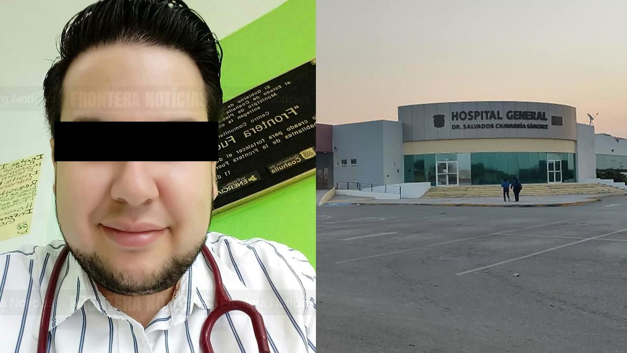 Médico coahuilense murió por sobredosis en área COVID: sostenía una jeringa con fentanilo