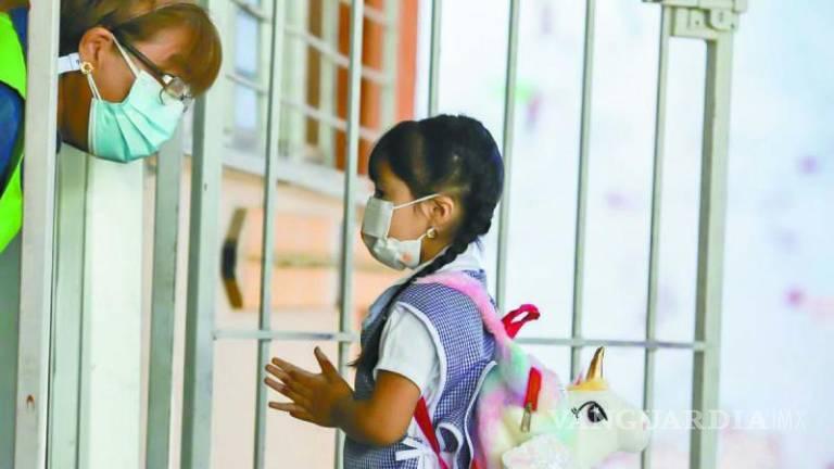 Pese a aumento de contagios en niños, 65 planteles abrirán sus puertas en Monclova y Región Centro