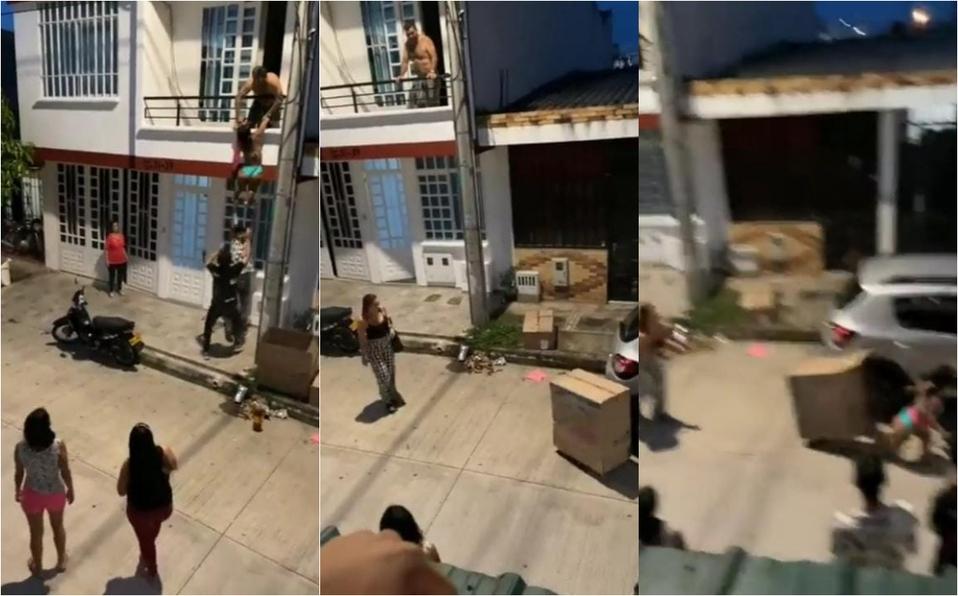¡Ábreme la puerta, hijo de put*!: joven encuentra a su esposo con su amante, video se hace viral