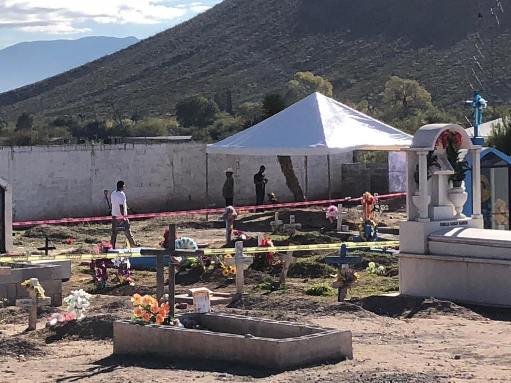 La Comisión de Búsqueda del Estado de Coahuila y el Centro Regional de Identificación Humana encabeza las labores.