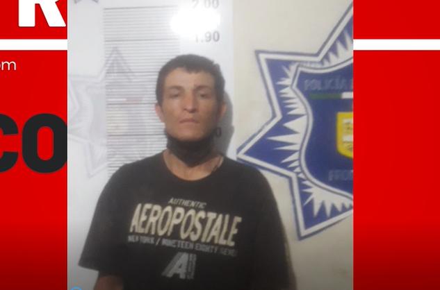 Peligroso ladrón de la colonia Aviación de Frontera cae tras las rejas
