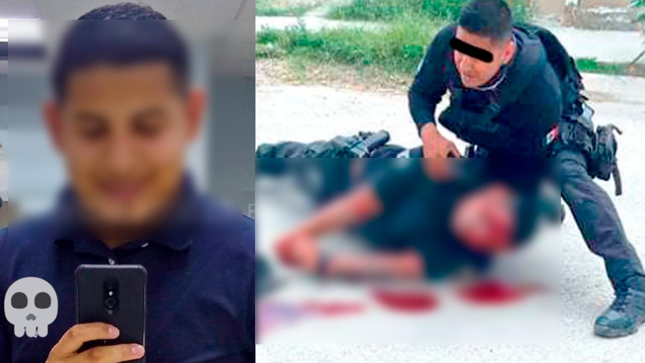 A punto de morir policía de Coahuila: se cayó de la patrulla durante persecución