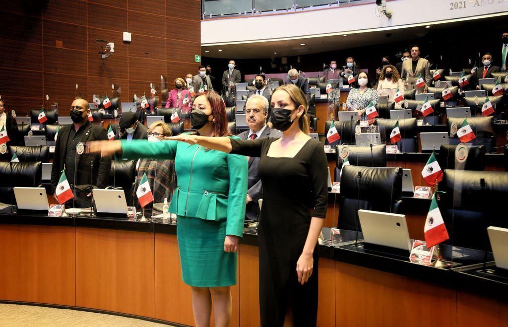 Esta es la segunda ocasión que Verónica Martínez asume el cargo de vicepresidenta.