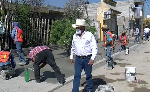 SIMAS está por concluir con obras en la zona centro de Frontera.