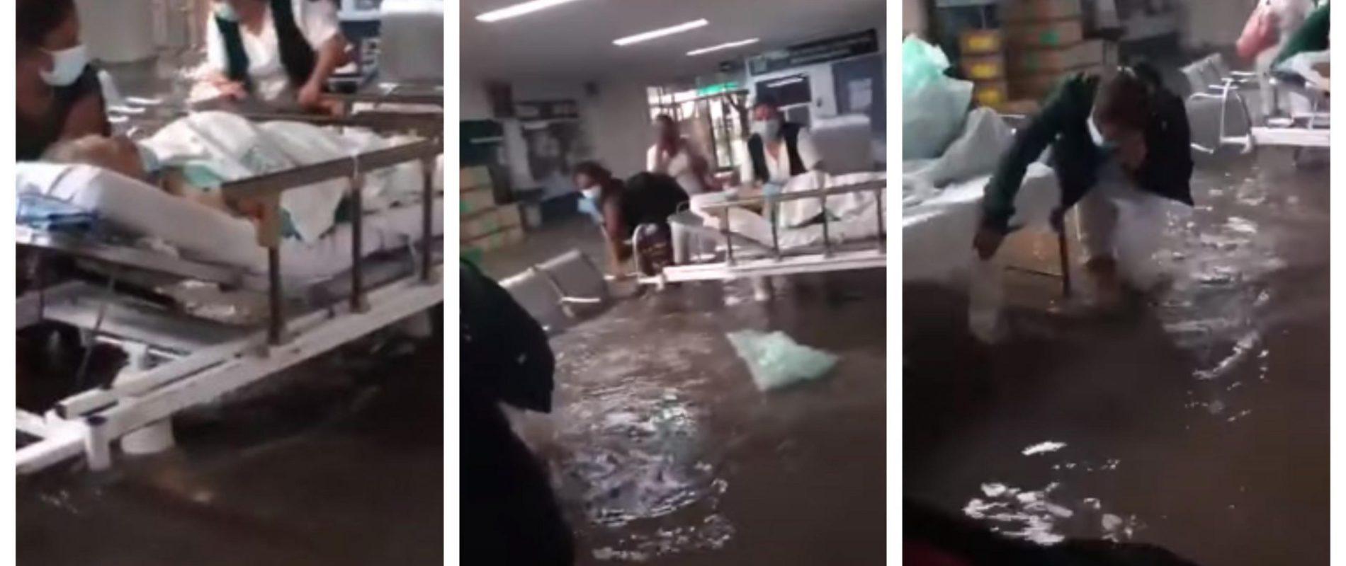 Perdió a su esposo en la inundación de hospital en Tula: