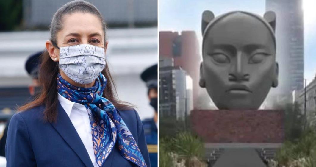 Le reasigna su lugar a la mujer, iniciará un cambio de conciencia: Sheinbaum sobre escultura de Tlali