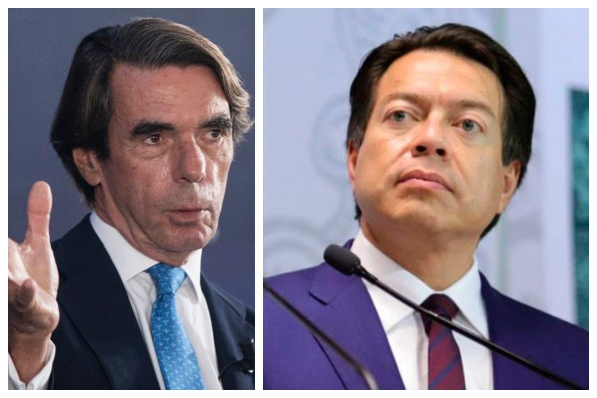 Es un incitador a la guerra: Mario Delgado arremete contra Aznar por Conquista