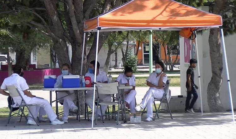 Llaman a fronterenses a completar su esquema de vacunación.