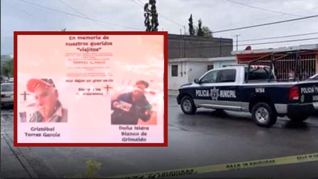 Doña Issi murió por COVID y su esposo se pegó un tiro: dan el último adiós a abuelitos en Saltillo
