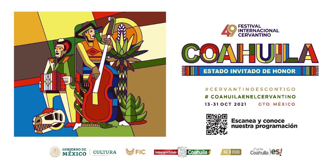 Coahuila listo para su participación en el Cervantino