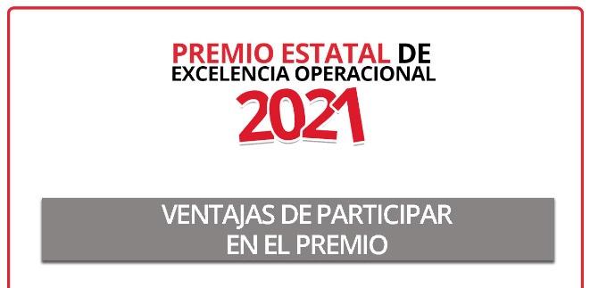 Invita Coahuila participar en el premio estatal de Excelencia Operacional 2021