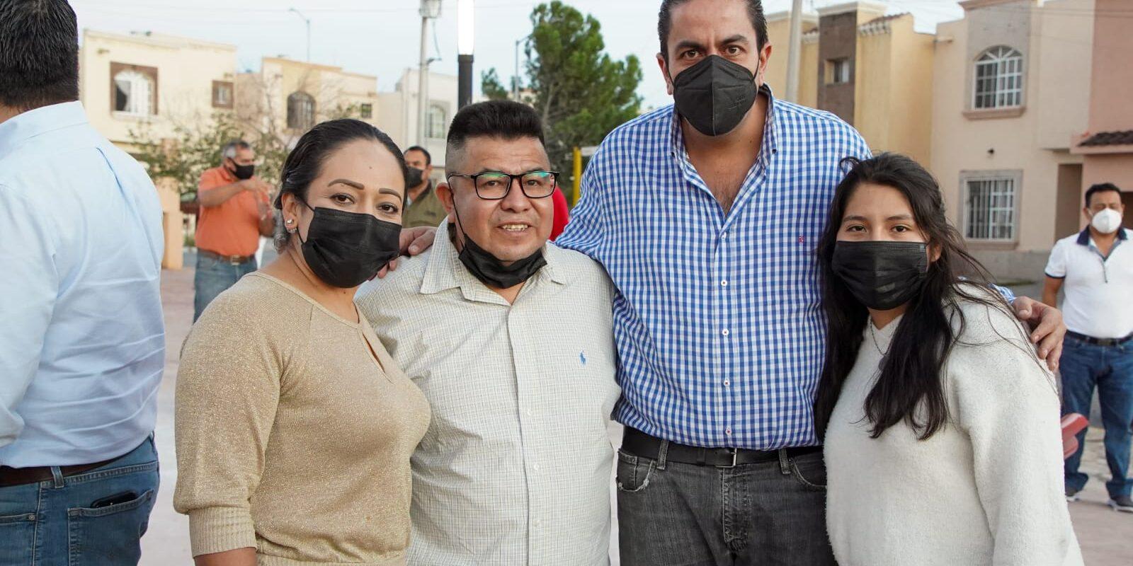 Sigue Chema Morales mejorando espacios públicos en Ramos