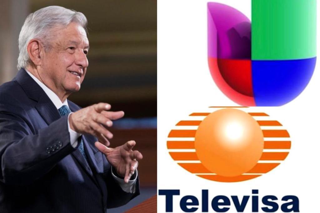 AMLO aplaude fusión Televisa-Univisión; generará una entrada de 10 mil mdp al gobierno México