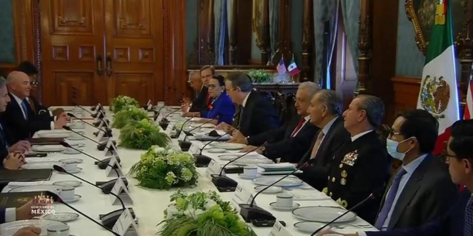 AMLO encabeza Diálogo de Alto Nivel México-Estados Unidos; 'estamos en esa disposición de cooperación', señaló