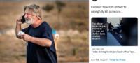 Se vuelve viral tweet de Alec Baldwin tras tragedia en Rust: ¿Qué se sentirá matar a alguien por accidente?