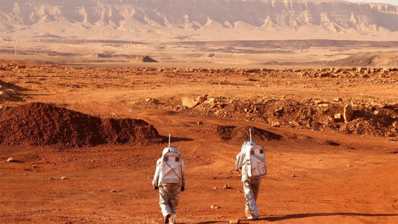 Astronautas simulan vida en Marte en desierto de Israel