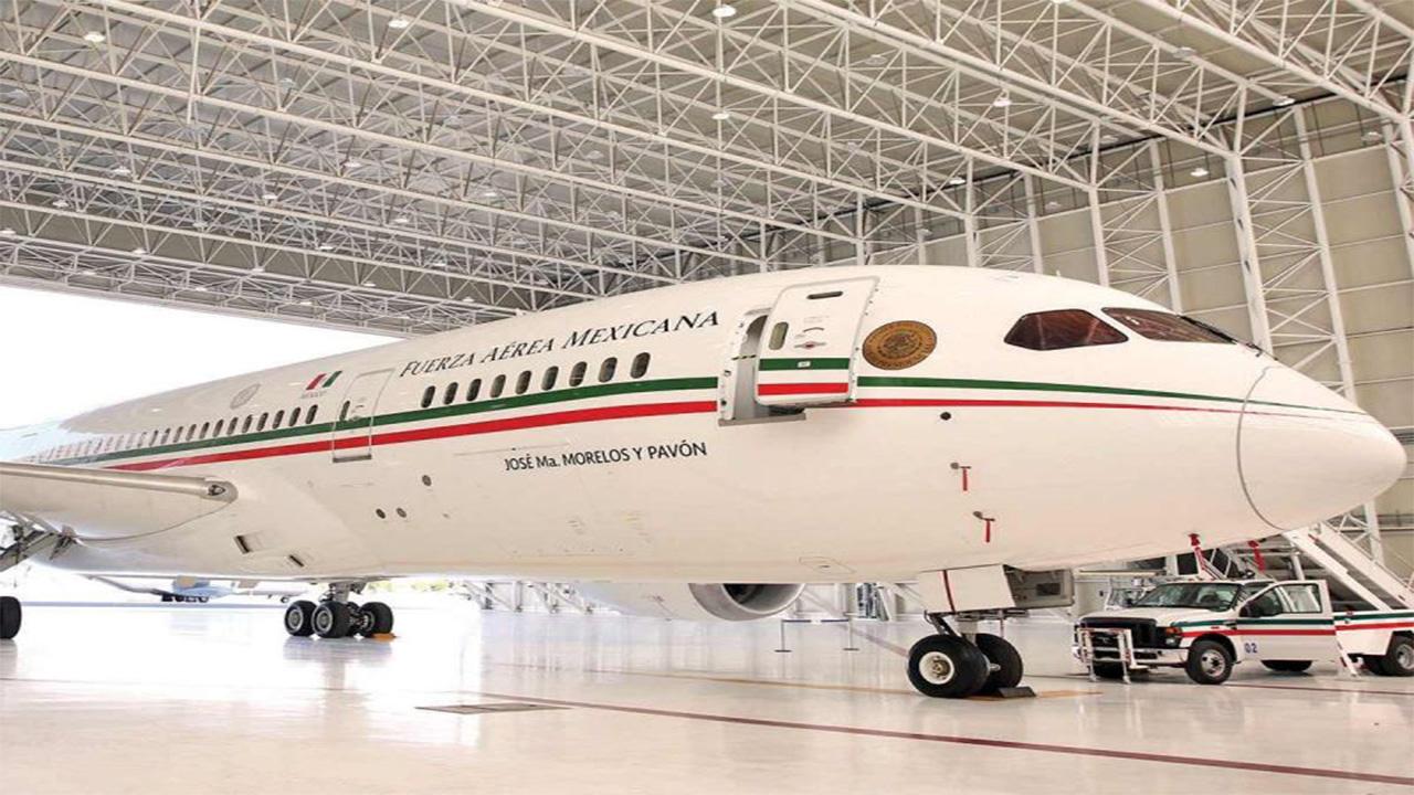 Avión presidencial TP-01 estrena otra ruta de venta; empresa de Mónaco lo promociona