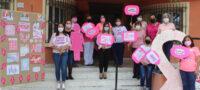 Funcionarios de San Buenaventura se visten de rosa
