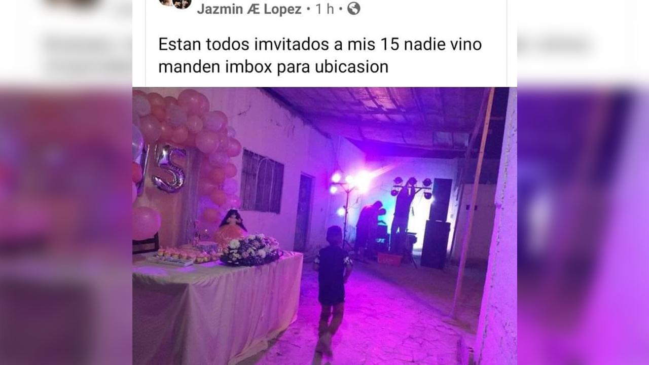 Dejan plantada a quinceañera en Coahuila; nadie fue a su fiesta