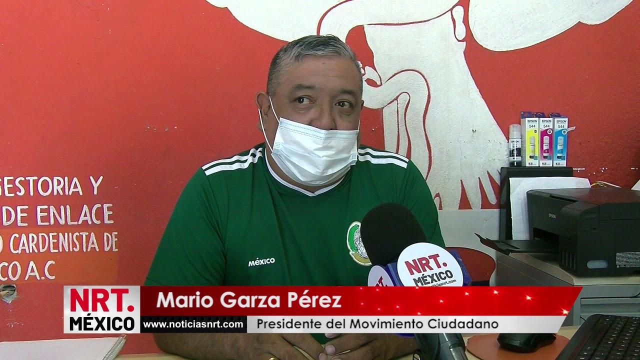 Denuncian militantes de Movimiento Ciudadano corrupción de Poncho Danao