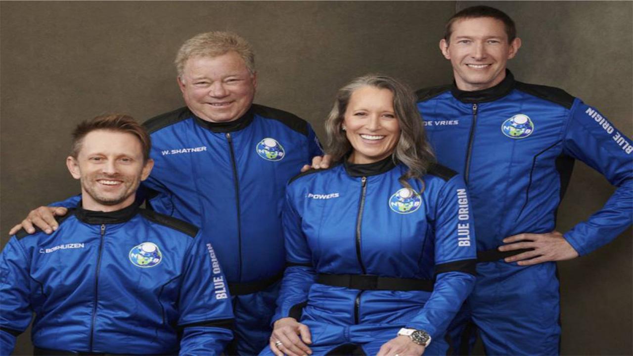 El viaje espacial del 'Capitán Kirk' con Blue Origin