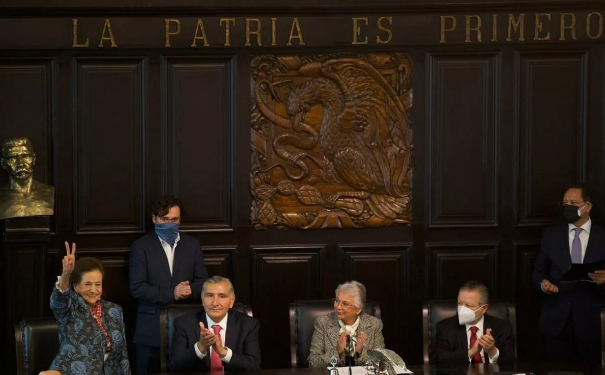 'Es una antigua tradición republicana': Muñoz Ledo lamenta inasistencia de AMLO en entrega de medalla Belisario Domínguez