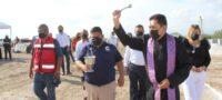 Instalan primera piedra de crematorio en Castaños