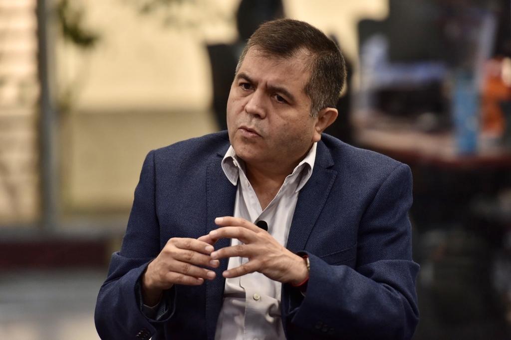 Eduardo Olmos, Presidente de la Junta de Gobierno del Congreso en Coahuila
