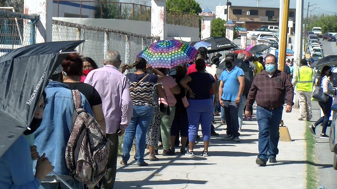 En evento cerrado vacunaran miércoles y jueves 1ª dosis antiCOVID a rezagados de Monclova