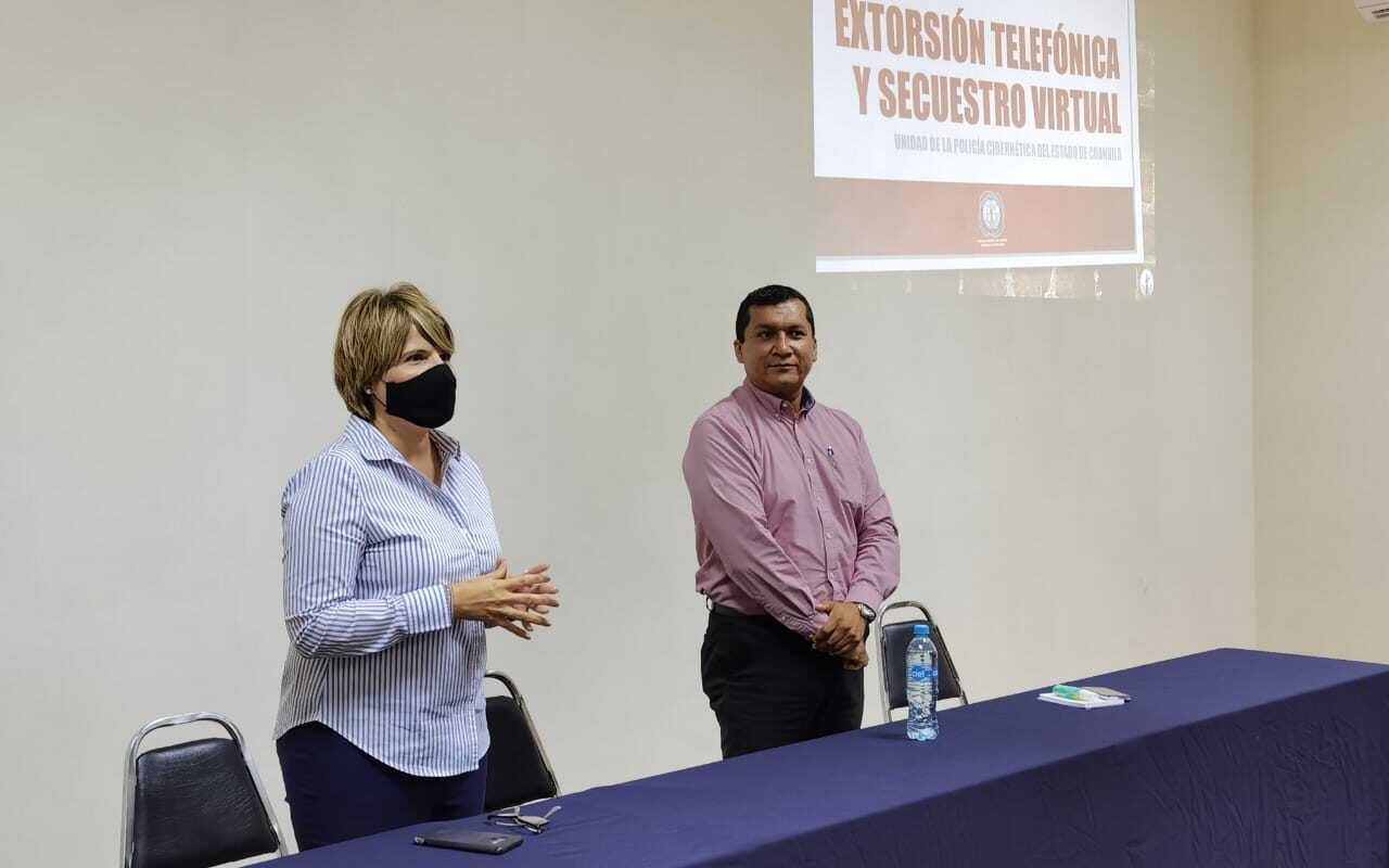 Refuerza Yolanda Cantú estrategia de prevención del delito con prestadores de servicios