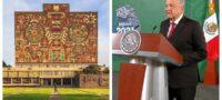 ¿Se arrepintió? Tras lanzar duras críticas, AMLO asegura que será respetuoso con la UNAM: 'Es una gran universidad'