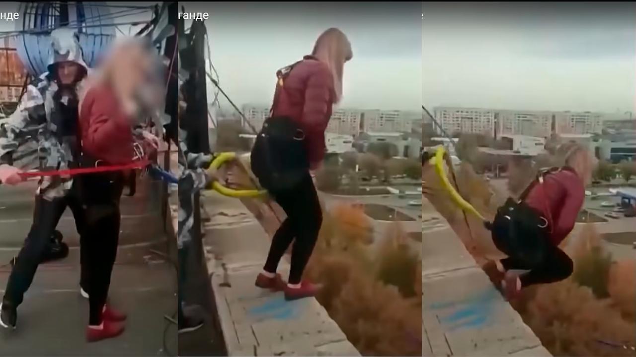 Madre murió en 'atracción extrema': Se lanzó de un edificio pensando que estaba atada a una cuerda de seguridad